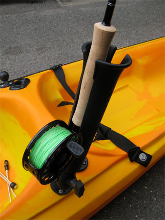 how to make a fly rod holder